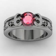 nerdy wedding rings geeky rings custommade