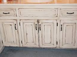 Rustic White Cabinets Distressed Bathroom Cabinets From The Magic Brush Inc Distressed