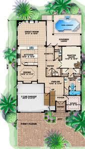 mediterranean style house plan 7 beds 4 00 baths 4370 sq ft plan