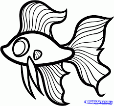 easy fish drawings for kids