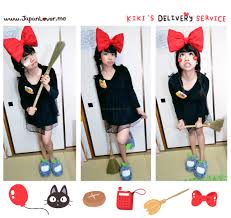 halloween delivery 1x1 trans kawaii diy kiki bow tutorial when i learn to sew