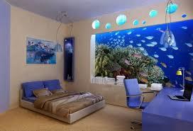 chambre aquarium déco chambre aquarium