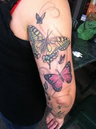14 best butterfly sleeve tattoos images on arm tattoos