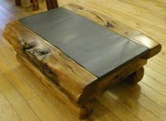 slate wood coffee table slate coffee table set coffee tables pinterest slate coffee