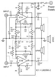 lm2896 car audio lifier circuit