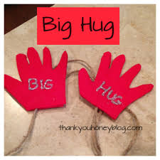 sending hug thank you honey
