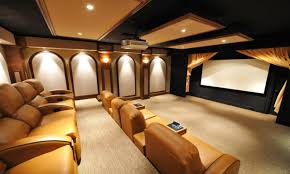 home movie theater design pictures basement media room with movie poster niches on the walls home
