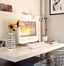 Modern Floating Desk Floating Desk Installation White Woodworking Projects