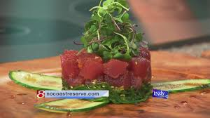 devour btown offers deals at bloomington restaurants wish tv chef elgar shows how to make poke po ke which is a raw appetizer served in hawaiian cuisine he used yellowfin tuna always start with a quality product