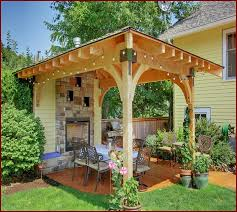Covered Patio Ideas For Backyard Amazing Small Backyard Covered Patio Ideas Great Small Backyard