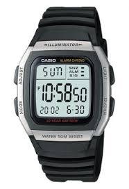 Jam Tangan Casio Karet pria jam tangan digital casio digital jam tangan pria hitam