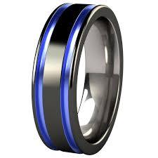 mens wedding rings titanium mens black titanium wedding rings mindyourbiz us