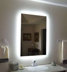 Lighted Mirrors For Bathroom Outstanding Modern Bathroom Mirrors 35 And For Lighted Bathrooms