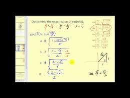 half angle formulas ck 12 foundation