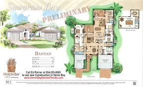 heron bay new construction banyan model floor plan and prices