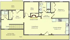 ranch floor plans with basement house plans with basement new design a basement floor plan with