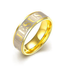 aliexpress buy gents rings new design yellow gold gnimegil brand jewelry titanium stainless steel rings men jesus