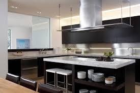 modern kitchen black cabinets modern neutral kitchen with black cabinets and island hgtv