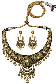 necklace set images images Necklaces buy designer necklace set online at craftsvilla jpg