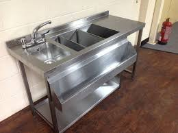Ebay Kitchen Sinks Stainless Steel by Cocktail Bar Station Stainless Steel Bar Sink U0026 Fully Insulated