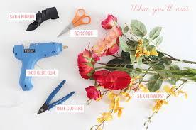 silk corsages diy silk flower corsage