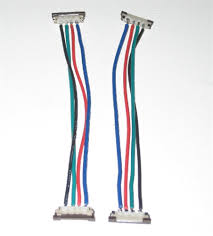 rgb flexibleflexible led strip solderless jumper connector 2 wire