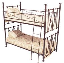 Iron Bunk Bed 33 Wrought Iron Bed And Unique Theme Beds Design