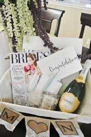 engagement gift baskets best 25 engagement basket ideas on engagement party
