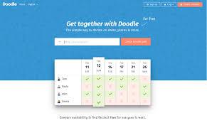 doodle poll uk doodle gets a fresh look doodle