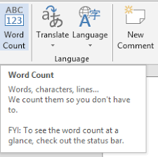 Count Word In Document Find Out Character Count Microsoft Word Document