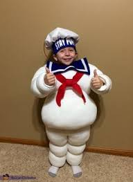 Stay Puft Marshmallow Man Costume How To Make A Stay Puft Marshmallow Man Costume More Marshmallow