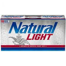 natural light natural light 18 pack 12 oz can dollar general