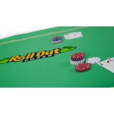 poker table top and chips rollout gaming poker table top the chip cave