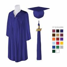 graduation cap and gown matte graduation cap gown and 2018 tassel best quality lowest
