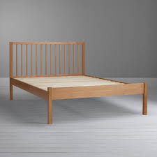 buy john lewis morgan bed frame king size oak john lewis
