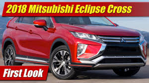 2018 mitsubishi eclipse cross first look youtube