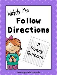 53 best following directions images on pinterest speech language