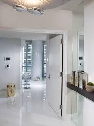 high gloss white tiles houzz