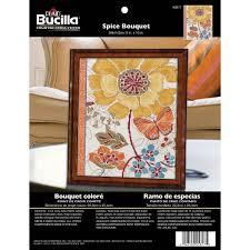shop plaid bucilla counted cross stitch picture kits spice