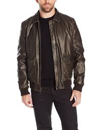 brown motorcycle jacket black and brown mens leather jackets