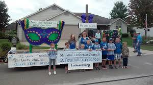 mardi gras float themes st paul ev lutheran church and school photos 2016 parade float