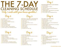 printable house cleaning schedule free printable weekly house cleaning schedule viva veltoro