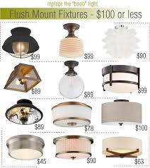 Flush Mounted Lighting Fixtures Hermosa Rings Flush Ceiling Light Diy Installation House Reno