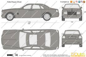 the blueprints com vector drawing rolls royce ghost