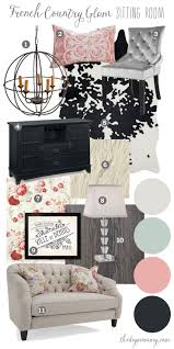 awesome déco salon mood board modern french country glam formal