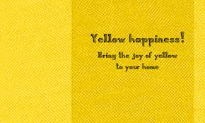 yellow happiness