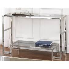 Glass Sofa Table Modern Narrow Oval Glass Sofa Table Lustwithalaugh Design Glass Sofa