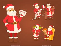 christmas santa claus vector illustration by vectorssstocker