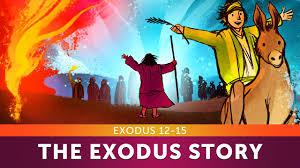 sunday lesson the exodus story exodus 12 15 bible