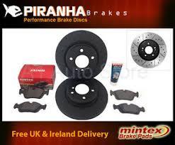 mercedes c class brake discs mercedes c class c200 w202 94 96 front brake discs black mintex